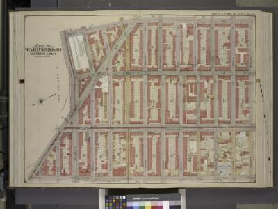 Brooklyn, Vol. 1, Double page Plate No. 15; Part of   Wards 3, 9 & 10, Section 1, 2 & 4; [Map bounded by 6th Ave., Berkeley PL.,       Sackett St.; Including  3rd Ave., Flatbush Ave, Atlantic Ave.]