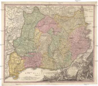 Principatus Cataloniae nec non comitatuum Ruscinonensis et Cerretaniae nova tabula