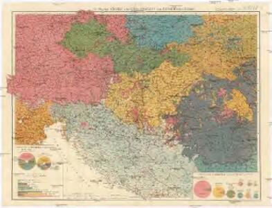 G. Freytag's Völker- und Sprachenkarte von Österreich-Ungarn