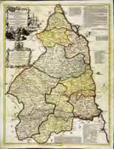 A new improved map of Northumberland