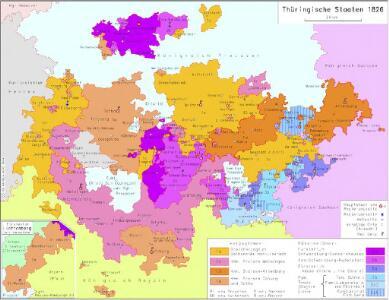 Thüringische Staaten 1826