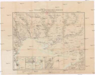 Special-Karte des Kriegsschauplatzes in Süd-Russland