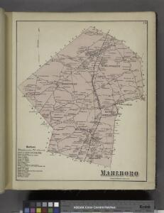 Marlboro Business Notices. ; Marlboro [Township]