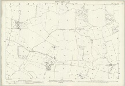 Essex (1st Ed/Rev 1862-96) XIV.6 (includes: Debden) - 25 Inch Map