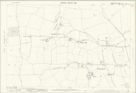 Hertfordshire XV.13 (includes: Albury; Farnham; Manuden) - 25 Inch Map