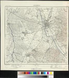 Meßtischblatt [7513] : Offenburg, 1928