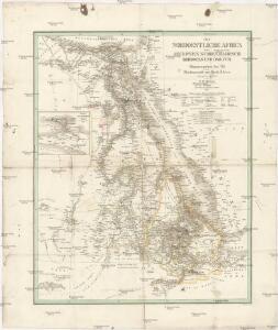 Das nordoestliche Africa oder Aegypten, Nubien, Habesch, Kordofan und Dar-Fur