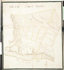 Plan of the Mains of Dunrobin