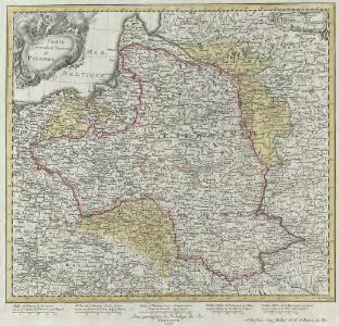 Carte Generale & Itineraire de Pologne