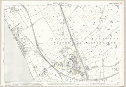 Cheshire XXII.14 (includes: Neston cum Parkgate) - 25 Inch Map
