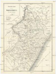 Übersichts-Karte Marianhill und seine Stationes