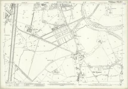 Berkshire XXXII.14 (includes: Datchet; New Windsor; Old Windsor) - 25 Inch Map