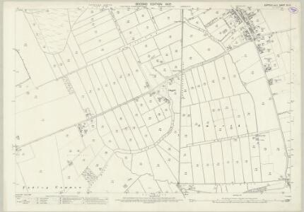 Suffolk XII.9 (includes: Eriswell; Lakenheath; Mildenhall) - 25 Inch Map