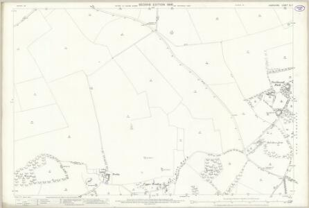 Hampshire and Isle of Wight XL.7 (includes: Crawley; Sparsholt) - 25 Inch Map