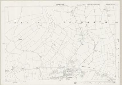 Derbyshire VIII.8 (includes: Chinley Bugsworth and Brownside; New Mills) - 25 Inch Map