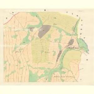 Petersdorf (Petrowice) - m0900-1-002 - Kaiserpflichtexemplar der Landkarten des stabilen Katasters