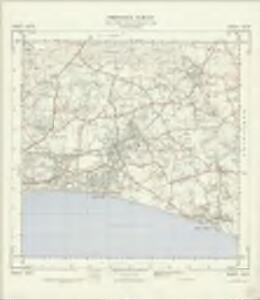 SZ29 - OS 1:25,000 Provisional Series Map