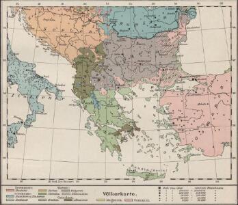 Völkerkarte