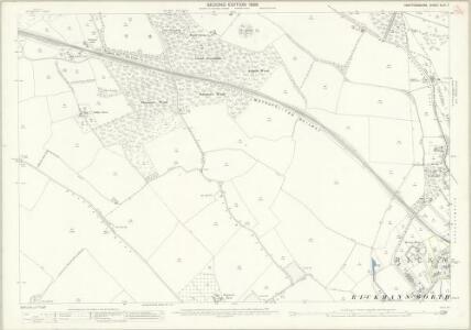 Hertfordshire XLIII.7 (includes: Chorleywood; Rickmansworth Urban) - 25 Inch Map