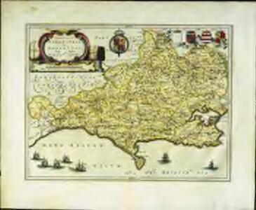 Comitatvs Dorcestria, sive Dorsettia; vulgo anglice Dorset Shire