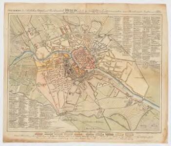 Grundriss der königlichen haupt und residenzstadt Berlin : nach der vom königl. policeijdirectorio veranstalteten neuen bezeichnung der strassen und plätze im Jahre 1803