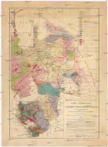 Carte géologique de l'Afrique équatoriale Franc[ai]se