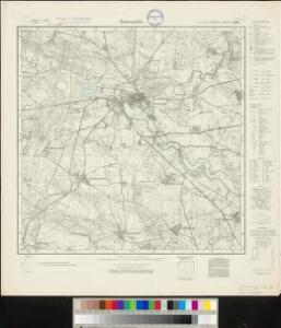 Meßtischblatt 1411 : Arnswalde, 1934