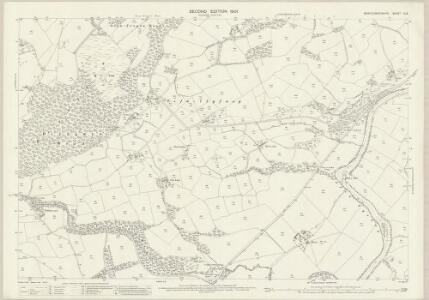 Montgomeryshire X.14 (includes: Llanfechain; Llansanffraid Deuddwr; Meifod; Pool) - 25 Inch Map