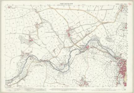 Cornwall LXXIV.5 (includes: Madron; Paul; Penzance; Sancreed) - 25 Inch Map