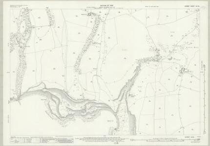 Dorset LVI.14 (includes: Corfe Castle; Worth Matravers) - 25 Inch Map