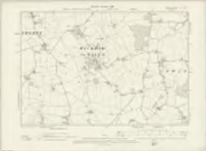 Essex XII.SW - OS Six-Inch Map