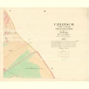 Czeitsch - m0360-1-003 - Kaiserpflichtexemplar der Landkarten des stabilen Katasters