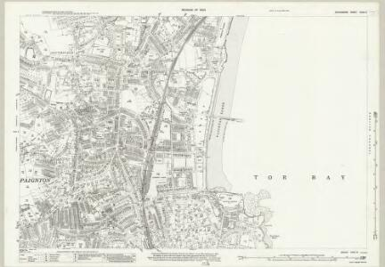 Devon CXXII.5 (includes: Paignton) - 25 Inch Map
