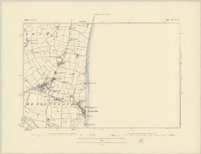 Suffolk XIX.NW - OS Six-Inch Map