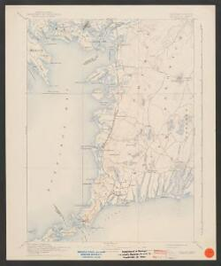 Falmouth quadrangle, Massachusetts