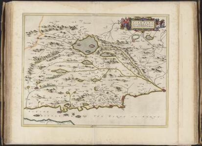 Fifae pars occidentalis, [vulgo], The West Part of Fife.
