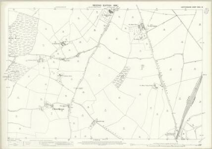 Hertfordshire XXXIV.15 (includes: St Albans; St Michael Rural; St Stephen) - 25 Inch Map