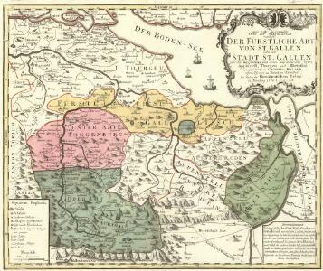 Die zwey erste zugewandte Orte der Eidgnosschaft nemlich: Der Fürstliche Abt von St. Gallen und die Stadt St.Gallen
