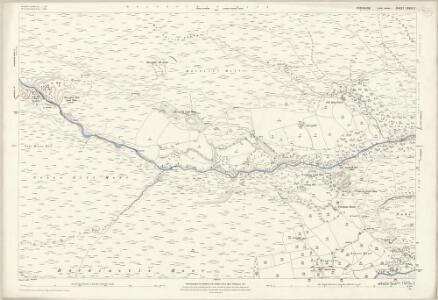 Yorkshire CXXXV.2 (includes: Bewerley; Down Stonebeck) - 25 Inch Map