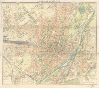 Brunn ́s Plan von München