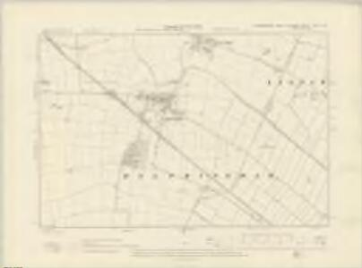 Lincolnshire CXVI.NW - OS Six-Inch Map