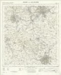Derby and Leicester - OS One-Inch Map