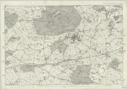 Lancashire CVII - OS Six-Inch Map