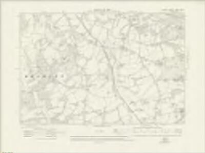 Surrey XXXIX.NW - OS Six-Inch Map