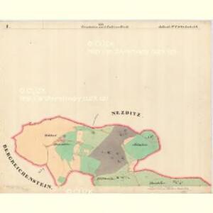 Jettenitz - c6707-1-001 - Kaiserpflichtexemplar der Landkarten des stabilen Katasters