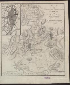 Plan der Ebene Von Tripolitza In Morea