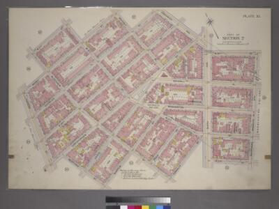 Plate 35, Part of Section 2: [Bounded by W. 11th Street, W. 4th Street, Perry Street, Waverly Place, Charles Street, Greenwich Avenue, Sixth Avenue, W. 8th Street, West Street, Macdougal Street, W. 3rd Street, Sixth Avenue, Cornelia Street, Bleecker Stre