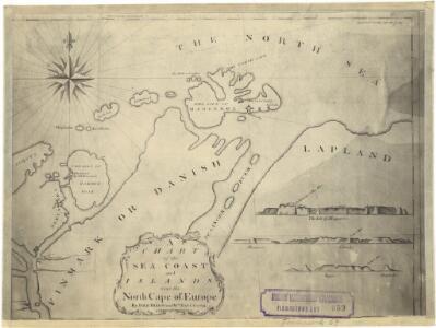 Finmarkens amt nr 58: Plan des environs de la colonne no 363 ou de Jakobsvig