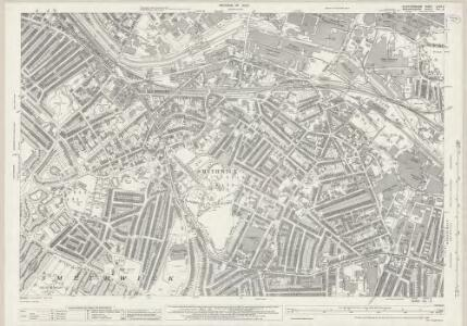Staffordshire LXXII.3 (includes: Birmingham; Smethwick) - 25 Inch Map
