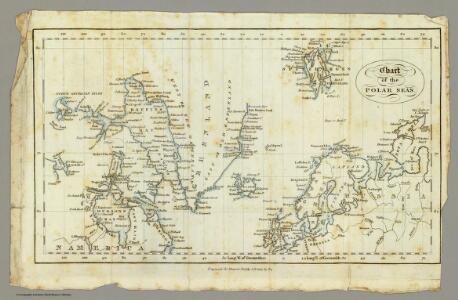 Chart, Polar Seas.
